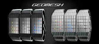 geo mesh unique mirrored japanese design e35 geomesh led from