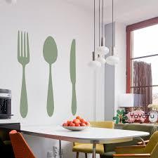 fork pattern wall decals art special decor wall stickers kichen