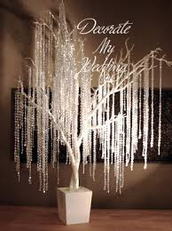 decorate my wedding iridescent wedding trees 48 diy