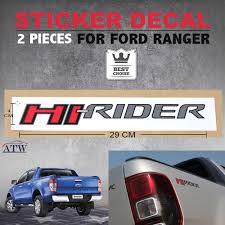 Ford Ranger Truck Decals - fit ford ranger t6 wildtrak ute px xlt pair sticker decal badge hi
