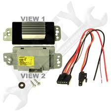 new design blower motor speed control module resistor for 2003