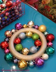 how to make a ornament wreath now with hometalk