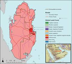 Doha Map A Preliminary Report On The Distribution Of Lizards In Qatar