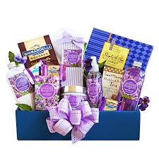 relaxation gift basket california delicious gift box lavender relaxation
