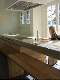 cuisine bois beton plan de travail cuisine en 71 photos idées inspirations conseils