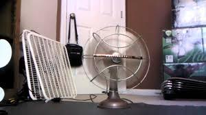 westinghouse desk fan 1950s
