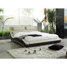 Floating Headboard With Nightstands by Beverly Hills Leather Bed Posh Contemporary Platform Beds