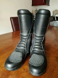 ladies motorbike boots bullson sheltex ladies motorbike boots size 39 6 in worksop