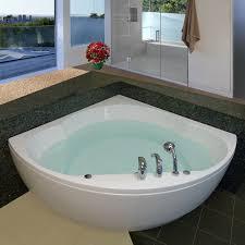 Bathtub Soaking Aquatica Cleo Wht Corner Soaking Bathtub The Mine