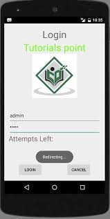 layout manager tutorialspoint android login screen