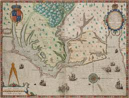 Jamestown Virginia Map by Colonial Williamsburg Acquires Early Virginia Maps