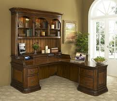 Large Office Desk How To Hang An Office Desk With Hutch Home Design Ideas