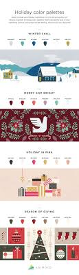 color combos 4 fresh color combos to try in your holiday marketing infographic