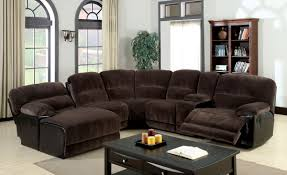 Recliner With Cup Holder Sofas Center Sensational Sectional Sofas With Recliners And Cup