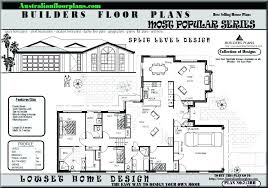 split entry floor plans split level ranch house plans thecashdollars