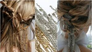 show pix of braid curly hair waterfall braid alldaychic