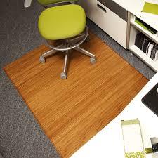 Office Chair Rug Amazon Com Anji Mountain Amb0500 1008 Trifold Bamboo Chairmat