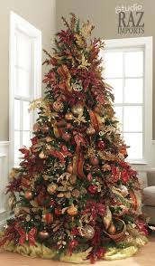 brown tree tree decorating ideas rustic