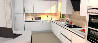 giffnock kitchen design white gloss furniture