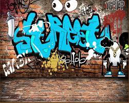 popular graffiti wallpaper mural buy cheap graffiti wallpaper beibehang wallpaper for walls 3 d custom mural wallpaper graffiti english brick wall tooling background wall