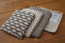 Caring For Wool Rugs Natural Wool Loom Hooked Rug Solid Grey Hook U0026 Loom