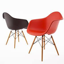 Eames Plastic Armchair Daw Free 3d Model Armchair Daw By Vitra Eames On Behance