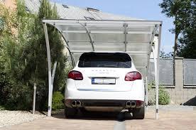 tettoie per auto tettoia per posto auto in policarbonato in metallo albixon
