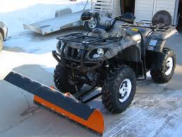 snow plow pics all brand quads atvconnection com atv enthusiast