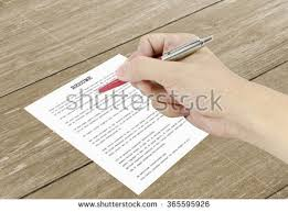 Photo On A Resume Resume Writing Stock Images Royalty Free Images U0026 Vectors