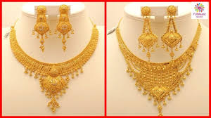girls gold necklace images Latest stylish gold necklace for girls brides indian pakistani jpg