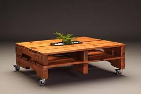 Coffee Tables With Wheels Pallet Coffee Table On Wheels Pallet Wood Projects