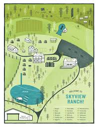 Ohio Amish Country Map by Map Of Skyview Ranch