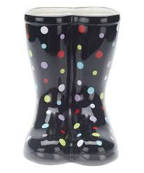 valerie parr hill indoor outdoor ceramic rain boot planter zulily