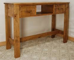 Small Sofa Table by Coffee U0026 End Tables De Vries Woodcrafters