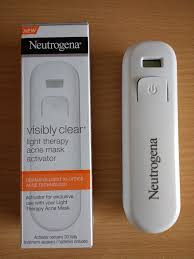 neutrogena light mask activator neutrogena visibly clear light therapy acne mask activator power