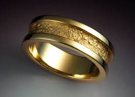 14k gold wedding band 14k gold wedding band with rock texture metamorphosis
