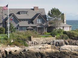 Famous Homes Almost Heaven York Harbor Maine Life In The Boomer Lane