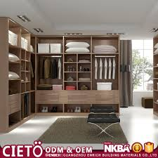 italian modular bedroom set foshan factory wooden white wardrobe