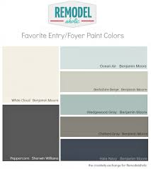 favorite entryway and foyer paint colors remodelaholic foyer
