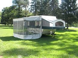 Bag Awnings Pop Up Camper Awning Track Coleman Pop Up Camper Awning Screen