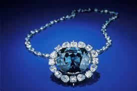 blue diamond necklace gem images Mystery of the hope diamond curse