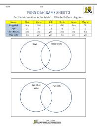Volume Of Rectangular Prism Worksheet Venn Diagram Worksheets