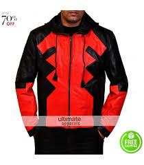 Halloween Costumes Deadpool Deadpool Halloween Costume Hooded Athletic Jacket