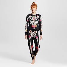 Xxl Halloween Costumes Women U0027s Dead Halloween Pajamas Black Xxl Pyjamas