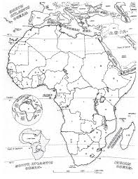 africa map africa coloring pages for adults justcolor