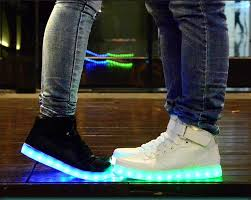 ladies light up shoes prettybaby led light up shoes for adults high top big size unisex