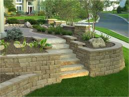interior decorative cinder blocks retaining wall interiors