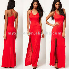 sexi maxi dresses maxi dress with thigh split shop for sale in china mainland