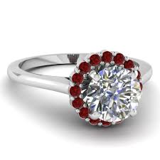 ruby engagement rings shop flower engagement rings style fascinating diamonds