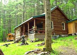 the rentals charming rustic secluded log cabin in